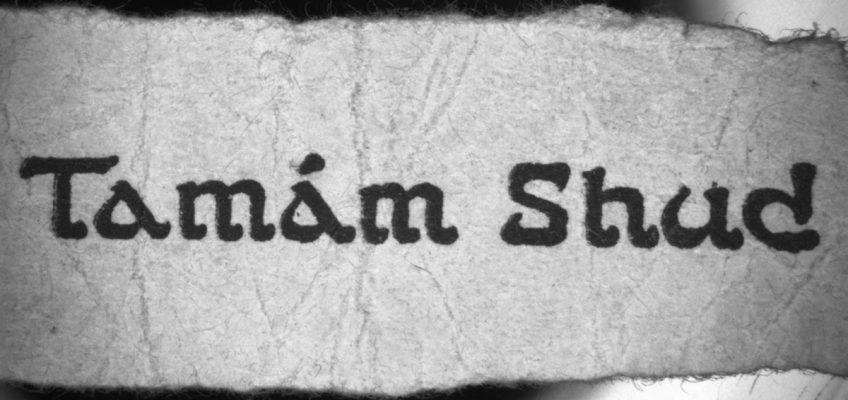 Tamam Shud, A Story
